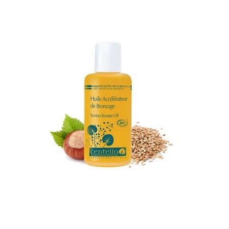 Zonne-olie - Bevordert het bruinen - Bio Centella